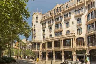 Espace commercial dans le centre de Barcelone